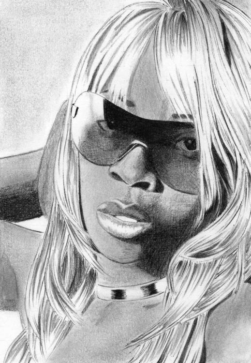 Mary J Blige by pacforlife